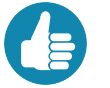YSI thumbs-up icon