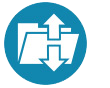 YSI data transfer icon