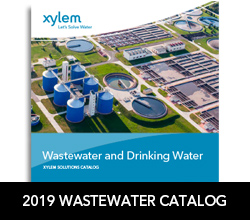 Download the 2019 Xylem Wastewater and Drinking Water Catalog
