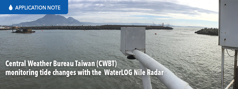 Central Weather Bureau Taiwan (CWBT) monitoring tide changes with the YSI WaterLOG Nile Radar